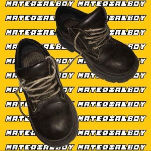 ⚡️ CHUNKY SQUARE TOOTH SOLE WORK SHOES by MUDD 🌈